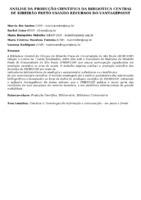 ANÁLISE DA PRODUÇÃO CIENTÍFICA DA BIBLIOTECA CENTRAL DE RIBEIRÃO PRETO USANDO RECURSOS DO VANTAGEPOINT