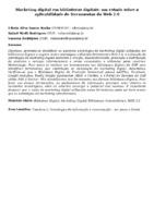 Marketing digital em bibliotecas digitais: um estudo sobre a aplicabilidade de ferramentas da Web 2.0