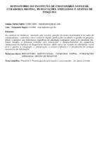 REPOSITÓRIO DO INSTITUTO DE ENGENHARIA NUCLEAR: CURADORIA DIGITAL, PUBLICAÇÕES AMPLIADAS E GESTÃO DE PESQUISA