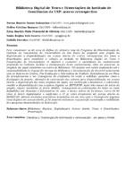 Biblioteca Digital de Teses e Dissertações do Instituto de Geociências da USP: acervo retrospectivo