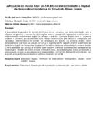 Adequação do Dublin Core ao AACR2: o caso da Biblioteca Digital da Assembleia Legislativa do Estado de Minas Gerais