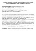 Avaliação do uso do serviço de autoatendimento com tecnologia RFID na Biblioteca da Unesp - Câmpus de Rio Claro