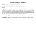 Biblioteca Interativa: novo perfil