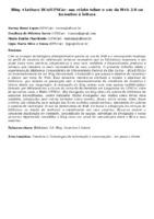 Blog +Leitura BCo/UFSCar: um relato sobre o uso da Web 2.0 no incentivo à leitura