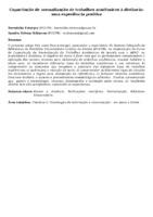 Capacitação de normalização de trabalhos acadêmicos à distância: uma experiência positiva