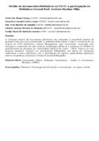 Gestão de documentos eletrônicos na UECE: a participação da Biblioteca Central Prof. Antônio Martins Filho