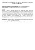 Política de Desenvolvimento de Coleções  em Bibliotecas Digitais: relato de experiência