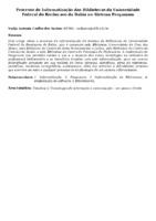 Processo de Informatização das Bibliotecas da Universidade Federal do Recôncavo da Bahia no Sistema Pergamum