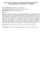 Redes Sociais: relato de experiência da Biblioteca Central da Universidade Federal de São Paulo - UNIFESP