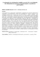 A exploração da colaboração científica na web 2.0 :a contribuição dos elementos da arquitetura da informação e arquitetura participativa