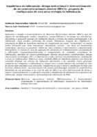 Arquitetura da informação, design instrucional e desenvolvimento de recursos educacionais abertos (REA's): proposta de configuração de uma nova ecologia da informação