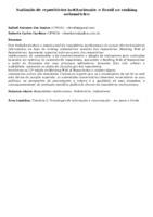 Avaliação de repositórios institucionais: o Brasil no ranking webométrico