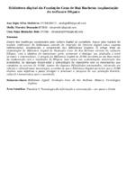 Biblioteca digital da Fundação Casa de Rui Barbosa: implantação do software DSpace