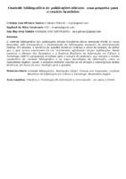 Controle bibliográfico de publicações oficiais:  uma proposta para o cenário brasileiro