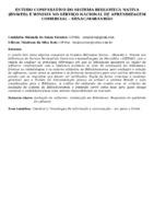ESTUDO COMPARATIVO DO SISTEMA BIBLIOTECA NATIVA (BNWEB) E WINISIS NO SERVIÇO NACIONAL DE APRENDIZAGEM COMERCIAL – SENAC/MARANHÃO