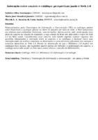 Interação entre usuário e catálogo: perspectivas junto à Web 2.0