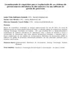 Levantamento de requisitos para a implantação de um sistema de gerenciamento eletrônico de documentos em um software de gestão de processos