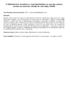 O Bibliotecário brasileiro e suas habilidades no uso das mídias sociais na internet: estudo de caso blog AWBB