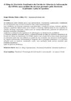O Blog do Diretório Acadêmico da Escola de Ciência da Informação da UFMG: uma análise do serviço prestado pelo Diretório Acadêmico Lydia de Queiroz