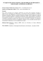 O Impacto dos novos usuários e das tecnologias da informação e comunicação na biblioteca acadêmica