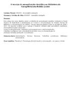 O serviço de normalização científica na Biblioteca da Unesp/Botucatu-Rubião Junior
