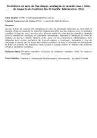 Periódicos da área de Oncologia: avaliação de acordo com o fator de impacto do Institute for Scientific Information (ISI)