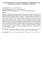 Pesquisa Brasileira em Ciência da Informação e Biblioteconomia: um periódico científico com função de referência