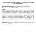Políticas culturais, redes sociotécnicas e a mediação da informação e do conhecimento