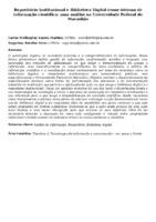 Repositório Institucional e Biblioteca Digital como sistema de informação científica: uma análise na Universidade Federal do Maranhão