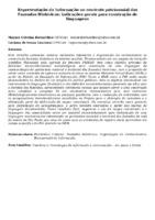 Representação da Informação no contexto patrimonial das Fazendas Históricas: indicações gerais para construção de linguagens