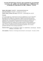Serviço de Referência Virtual: uma proposta de comunicação síncrona e de  política de atendimento para a Biblioteca da Faculdade de Engenharia de Ilha  Solteira - UNESP