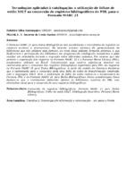Tecnologias aplicadas à catalogação: a utilização de folhas de estilo XSLT na conversão de registros bibliográficos do PHL para o Formato MARC 21