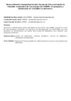 Desenvolvendo Competências dos Alunos de Pós-graduação da Unidade Acadêmica de Garanhuns da UFRPE: da pesquisa a elaboração de trabalhos acadêmicos.