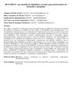 BV-FAPESP: um modelo de biblioteca virtual para instituições de fomento à pesquisa