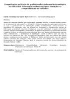 Competências múltiplas do profissional da informação tecnológica no SENAI-RS: informação customizada para inovação e a competitividade na indústria