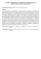 O ensino da disciplina de arquitetura de informação: uma aplicação da técnica de card sorting
