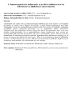 A Transcompetência delineando o perfil do bibliotecário de referência em bibliotecas universitárias