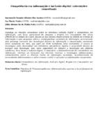 Competência em informação e inclusão digital: interseções conceituais