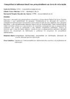 Competência informacional em pesquisadores na área de educação