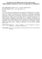 Competências do bibliotecário no desenvolvimento e implementação de políticas e normas de segurança da informação.