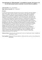 Comportamento informacional: um estudo do acesso, da busca e do uso da informação pelos usuários com deficiência auditiva