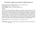 Estratégias e políticas para gestão da Análise Documental