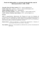 Fontes de informações no contexto dos docentes do curso de Zootecnia do ICAT / CUR / UFMT