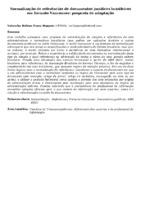 Normalização de referências de documentos jurídicos brasileiros em formato Vancouver: proposta de adaptação