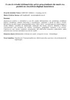 O uso do estudo bibliométrico pelos pesquisadores da saúde em periódicos científicos digitais brasileiros