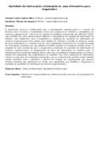 Qualidade da Informação: elaboração de uma sistemática para diagnóstico