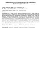 As bibliotecas universitárias e a gestão de qualidade no atendimento: estudo de caso