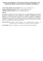Documentos históricos do Tribunal de Justiça do Maranhão e sua representatividade na preservação da memória maranhense