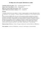 Ecologia da informação: bibliotecas verdes