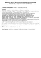 Modateca: espaço de pesquisa e memória com proposta de itinerância e desenvolvimento acadêmico